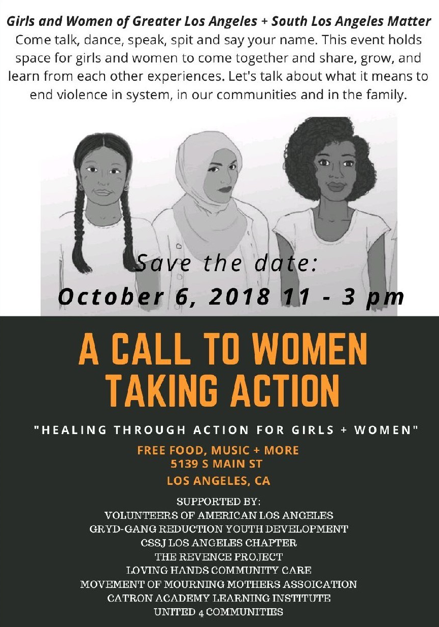 A Call to Women Taking Action